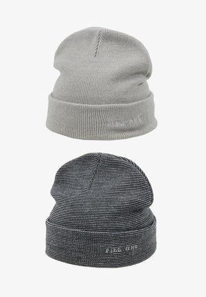 2PACK - Čepice - light grey/dark blue