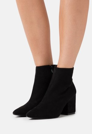 WIDE FIT KOLA - Classic ankle boots - black