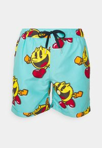 OppoSuits - PAC-MAN WAKA-WAKA SET - Shorts - blue - 3
