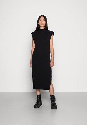 PAM DRESS - Neulemekko - black