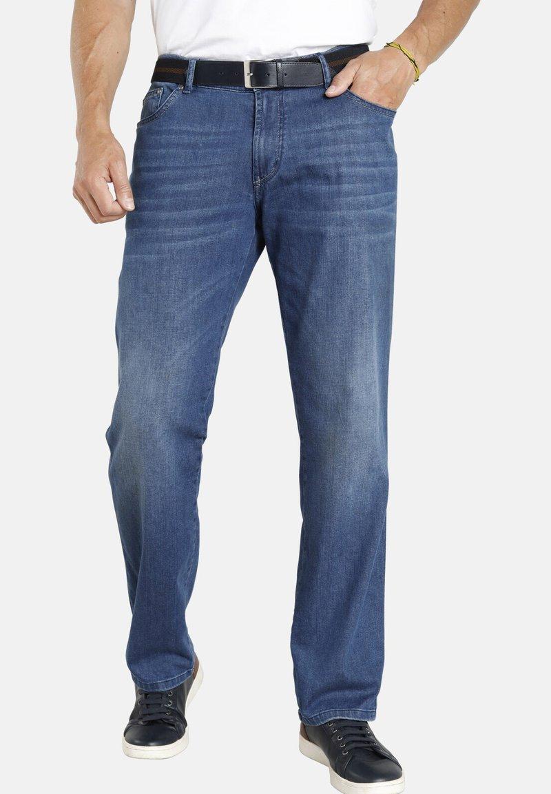 Jan Vanderstorm - Straight leg jeans - hellblau