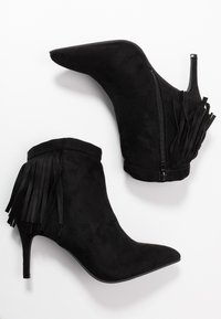 Simply Be - WIDE FIT DAHLIA - Ankle boots - black - 3