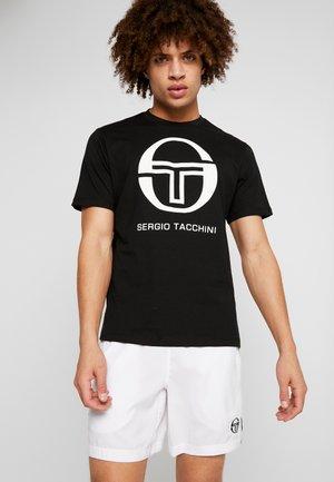 IBERIS  - Print T-shirt - black/white