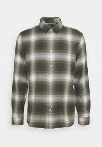 BRUSHED - Shirt - green plaid