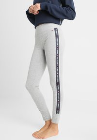 Tommy Hilfiger - LEGGING - Pyjama bottoms - grey - 0