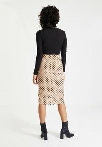 Trendyol - Pencil skirt - beige - 2