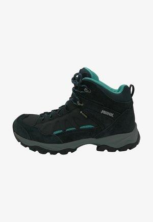 NEBRASKA LADY  - Lace-up ankle boots - nachtblau / grün