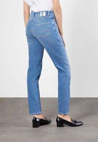 MAC Jeans - MELANIE  - Bootcut jeans - light blue - 1