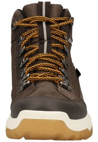Superfit - Lace-up ankle boots - braun/gelb - 5
