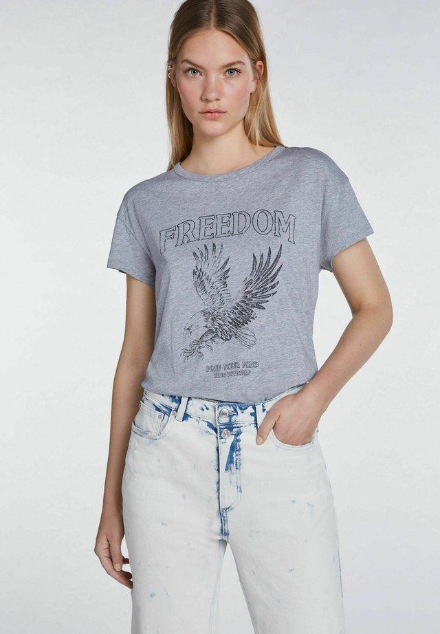 ICON - T-Shirt print - light grey