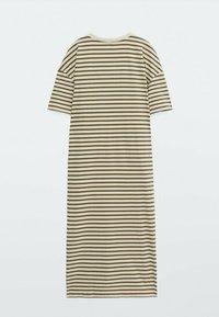 Massimo Dutti - Jersey dress - khaki - 1