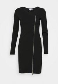 Patrizia Pepe - ABITO DRESS - Jersey dress - nero - 5
