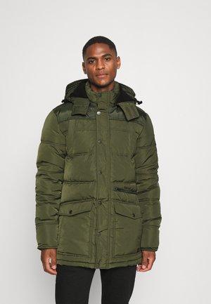 Winter jacket - dark army