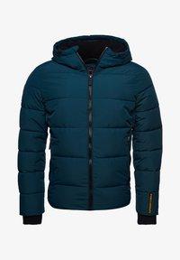 Superdry - Down jacket - pine/black - 4