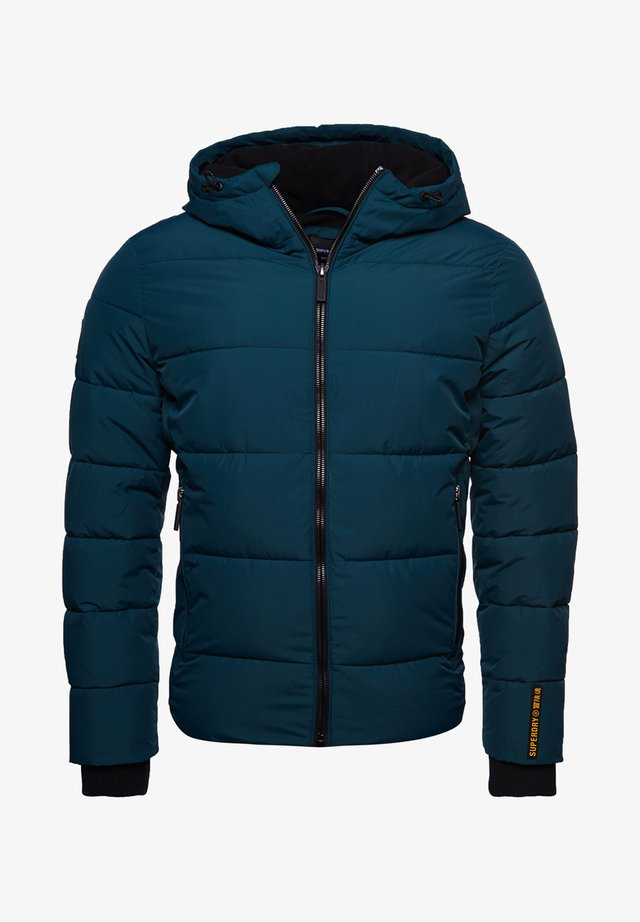 Down jacket - pine/black