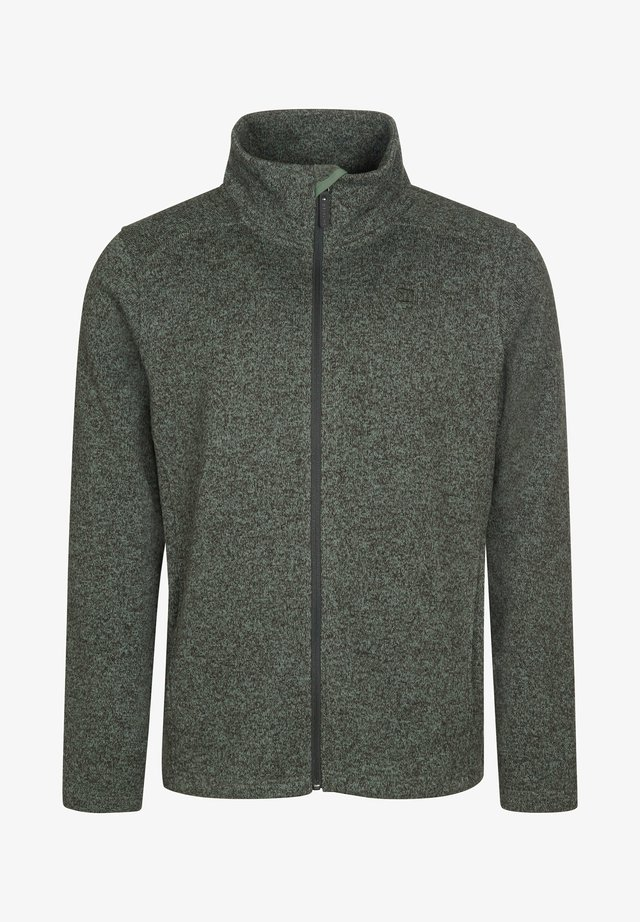 Fleece jacket - greenmelange