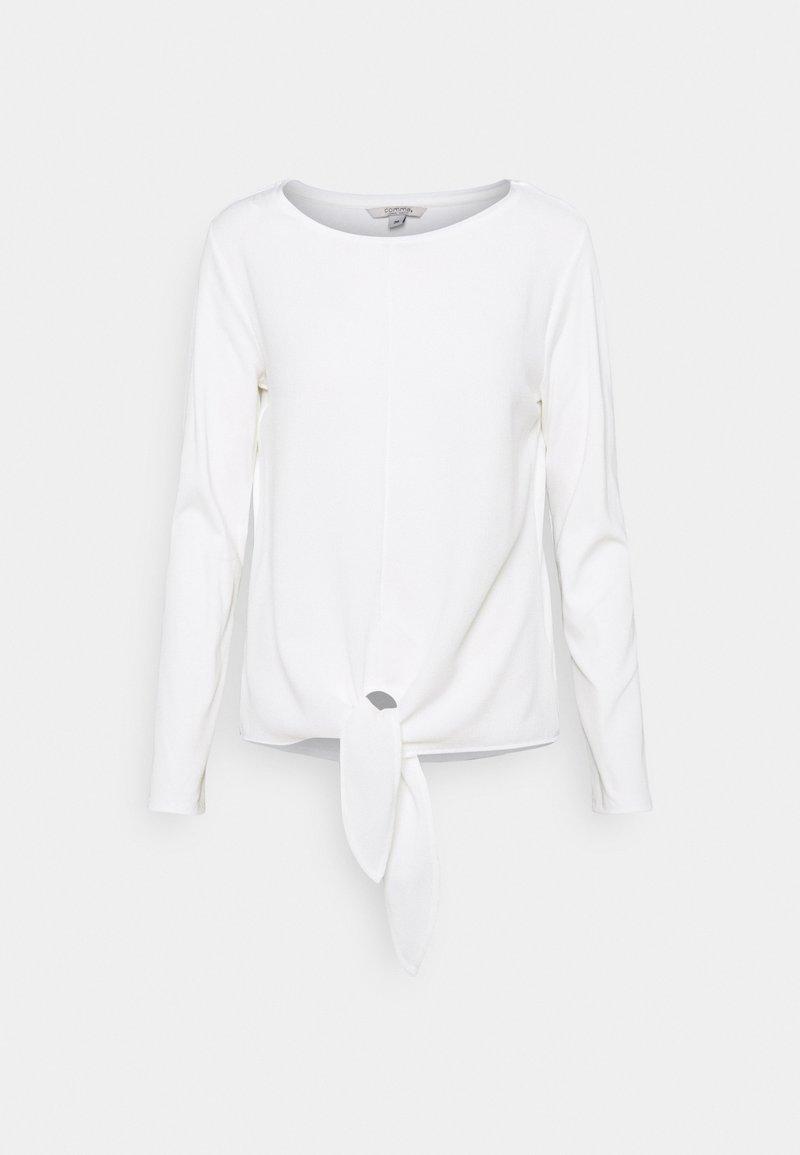 comma casual identity - Bluzka z długim rękawem - off white