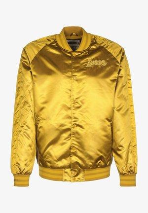 Training jacket - old gold