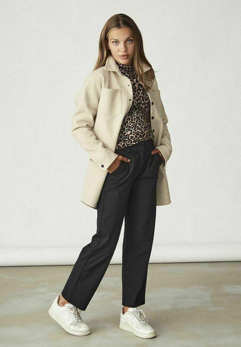 LMTD - Button-down blouse - beige