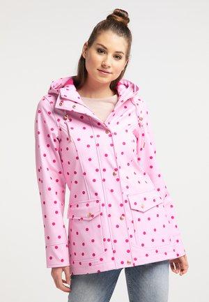 Chaqueta outdoor - polka dots