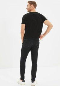 Trendyol - PARENT - Jean slim - grey - 2