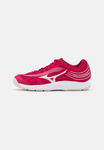 CYCLONE SPEED 3 - Volleyball shoes - persian red/white sand/biking red