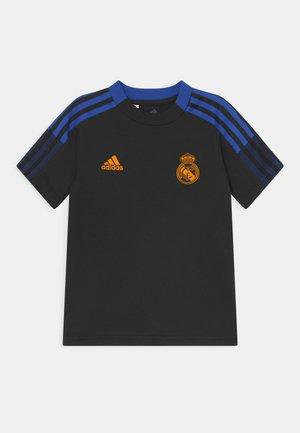 REAL MADRID TEE UNISEX - Club wear - black