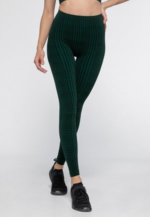 Legging - black/deep green