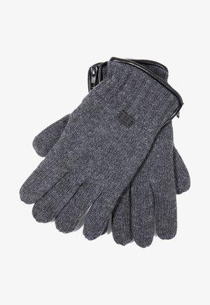 Gloves - grau meliert