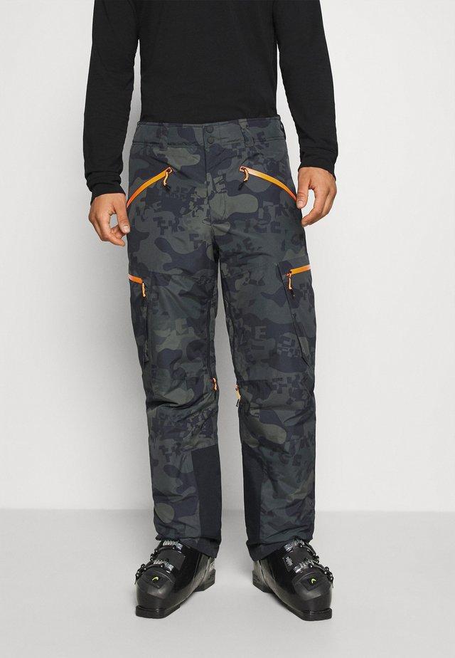 DAMIEN - Snow pants - dark green