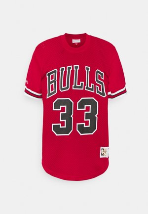 NBA CHICAGO BULLSSCOTTIE PIPPEN CREWNECK - Club wear - scarlet
