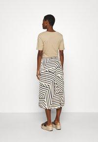Moss Copenhagen - AVIANNA RAYE SKIRT - A-line skirt - beige - 2