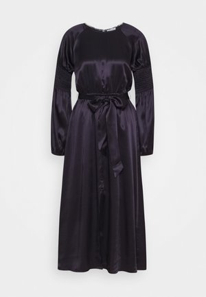 LEXI - Maxi šaty - oxford