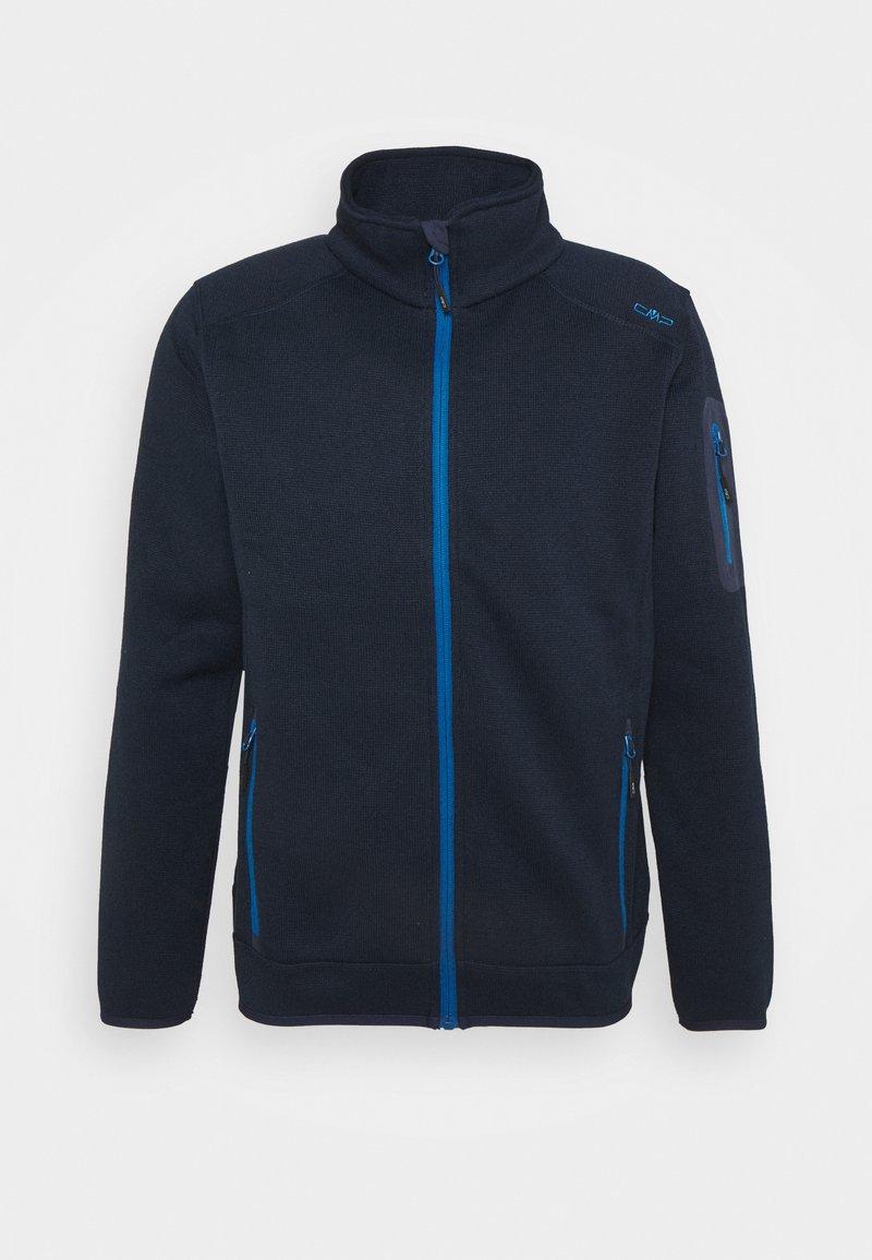 Campagnolo - MAN JACKET - Fleece jacket - black blue