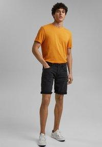 edc by Esprit - Denim shorts - black dark washed - 1