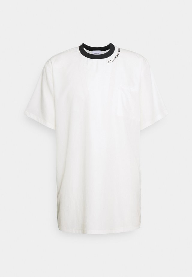 POCKET TEE - T-shirt print - white