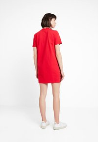Calvin Klein Jeans - TAPE LOGO DRESS - Jersey dress - barbados cherry - 2