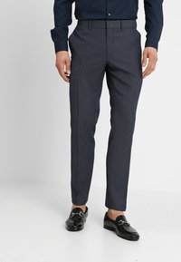 Isaac Dewhirst - FASHION STRUCTURE SUIT SLIM FIT - Puku - blue - 4