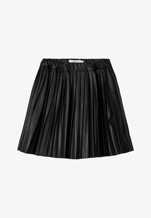 ROCK  - A-line skirt - black