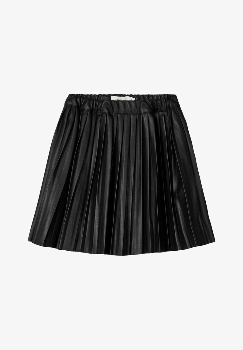 Name it - ROCK  - A-line skirt - black