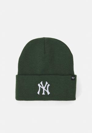 NEW YORK YANKEES HAYMAKER CUFF UNISEX - Beanie - dark green