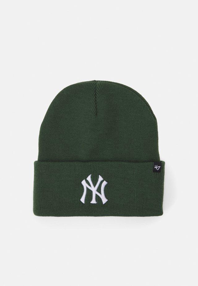 NEW YORK YANKEES HAYMAKER CUFF UNISEX - Czapka - dark green