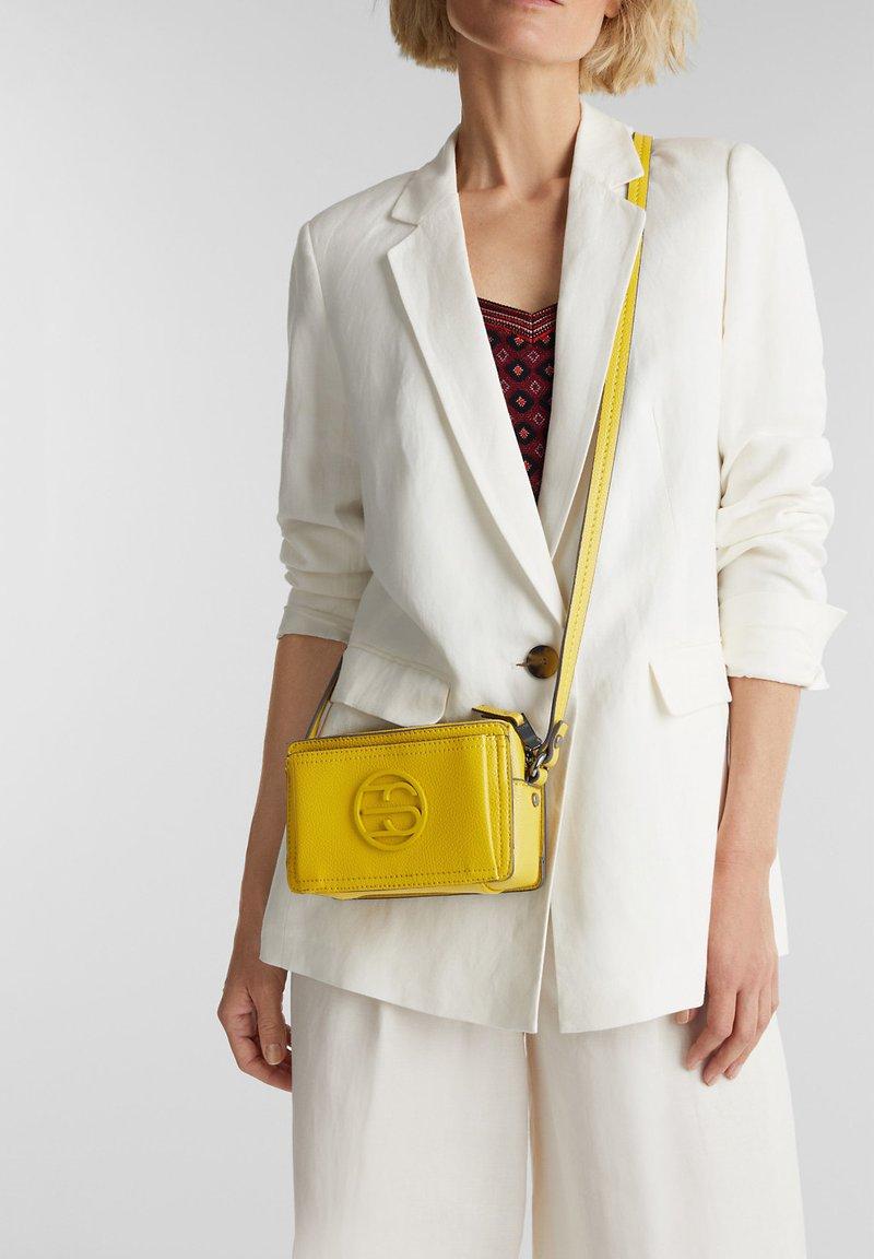 Esprit - FRAN SMALL - Across body bag - brass yellow