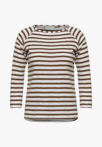 MUSTER - Long sleeved top - braun