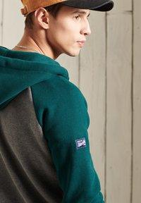 Superdry - Zip-up hoodie - dark grey - 1