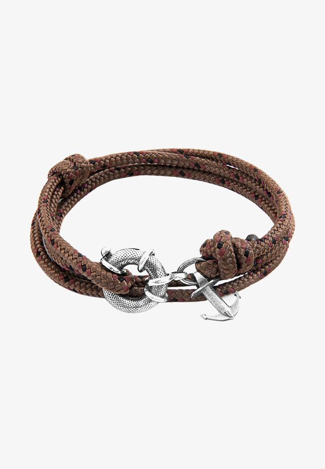 CLYDE ANCHOR  - Armbånd - brown