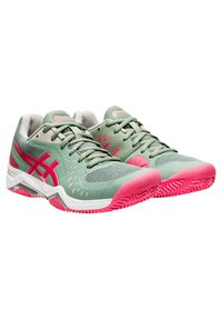 ASICS - GEL CHALLENGER 12 CLAY - Clay court tennis shoes - stone - 1