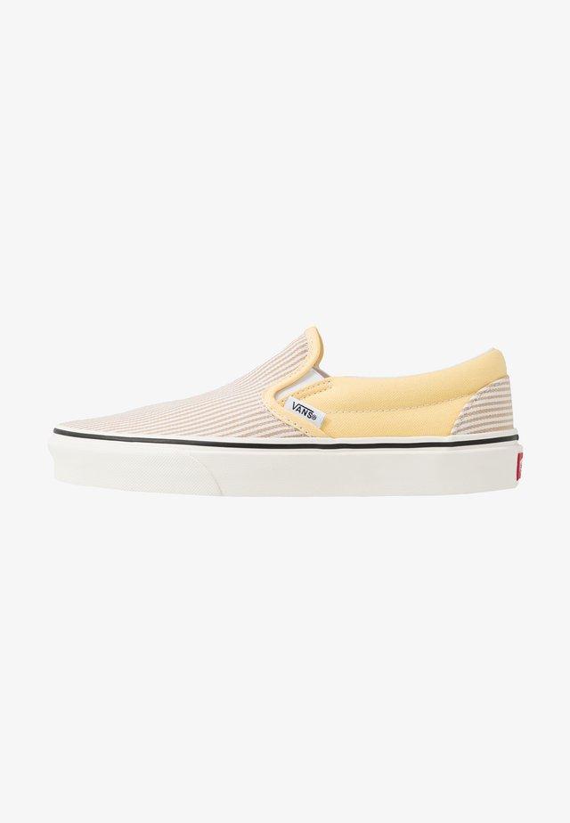 CLASSIC - Nazouvací boty - beige/yellow/white