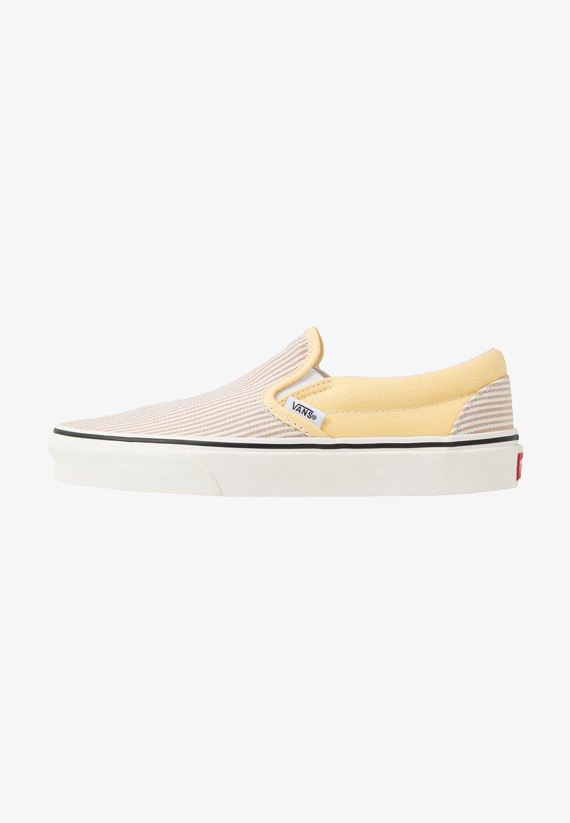 Vans - CLASSIC - Slip-ons - beige/yellow/white