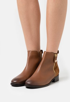 ACCEPT - Classic ankle boots - tan